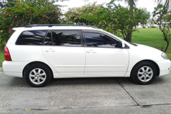 car rental corolla wagon